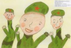 Писарев Илья, 6 лет. Три танкиста - три веселых друга. МДОУ Центр развития ребенка, д/с №117