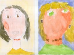 Самарина Даша, Рахман Дамир, Шарипова Даша, Солодков Саша, 5 лет. Пусть всегда будет мама! МДОУ Центр развития ребенка, д/с №161